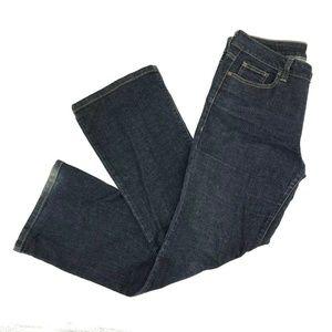 DKNY Soho Bootcut Jeans Sz 10 Short Dark Wash